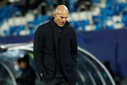 Zidane puso en duda su futuro durante la rueda de prensa previa al duelo frente al Athletic (Reuters)