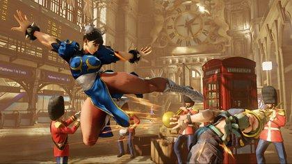 Chun-Li en Street Fighter V Champions Edition.