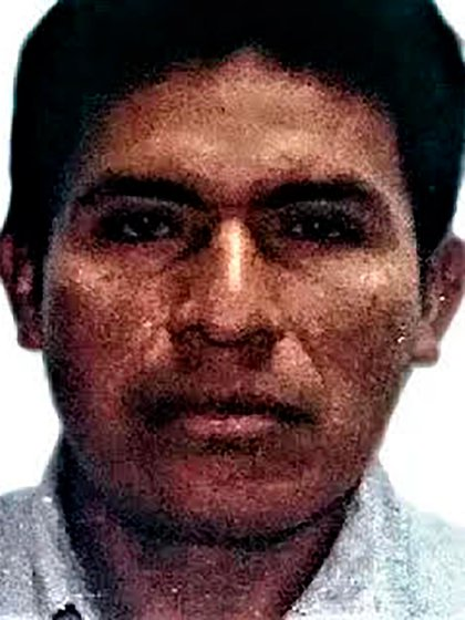 Salvador Franco, indígena detenido por la Operación Aurora