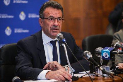 El ministro de Salud Pública de Uruguay, Daniel Salinas (EFE/Federico Anfitti)