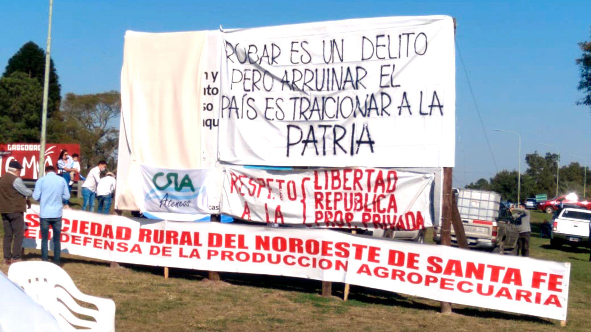 Campo Manifestacion 9 de Julio Reconquista Avellaneda