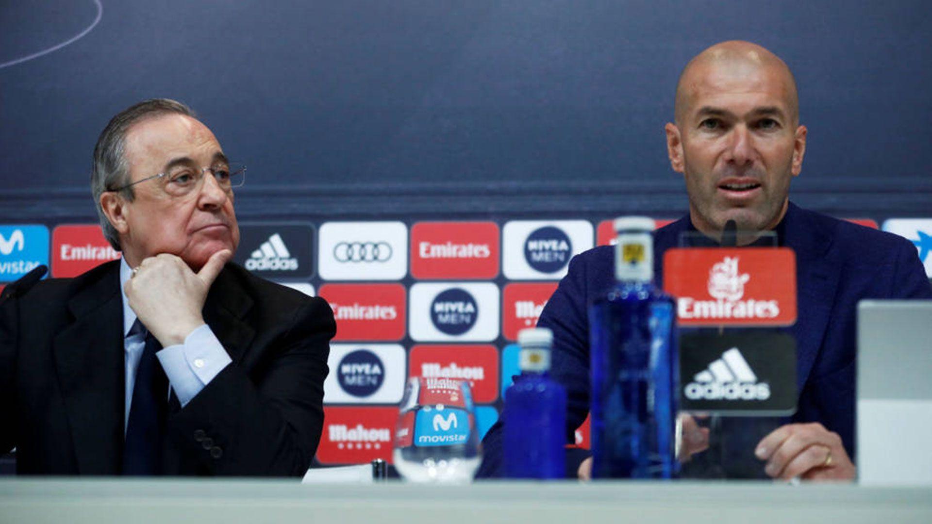 Zidane abandonó el Real Madrid tras una temporada sin títulos (Reuters)