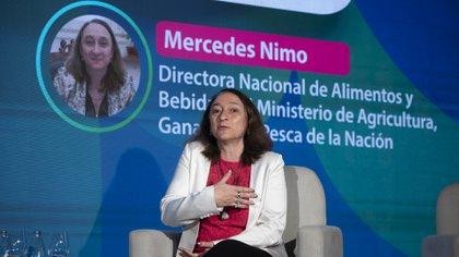 """""""Hoy tenemos grandes oportunidades de producir, posicionar y vender nuestros alimentos"""", dijo Mercedes Nimo (Adrián Escandar)"""