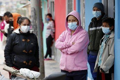 Bogotá tuvo 903 infectados nuevos, seguido por Bolívar (286), Valle del Cauca (248), Antioquia (190), Cundinamarca (103), Nariño (92), Chocó (87), Magdalena (57) y Sucre (48). EFE/Mauricio Dueñas Castañeda/Archivo