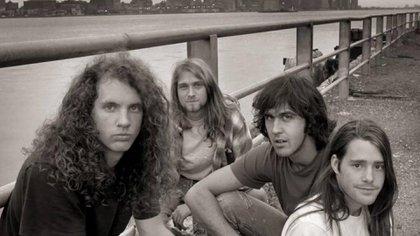 La formación original de Nirvana en 1989 (Youtube)