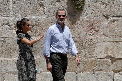 Una vez finalizada la gira, los reyes y sus hijas tomarán su habitual descanso en el Palacio de Marivent