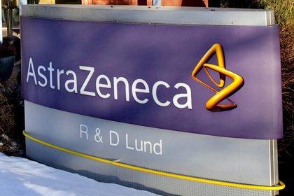 La entrada de la planta del gigante farmacéutico anglo-sueco AstraZeneca en Lund (EFE)