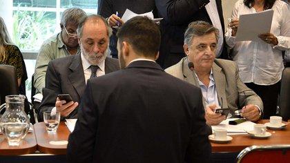 Pablo Tonelli y Mario Negri