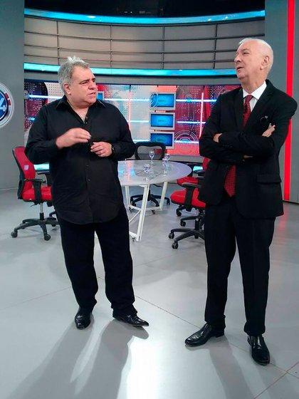Miguel Ángel Pierri y Mauro Viale