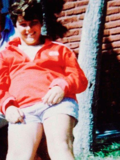 Hernán Drago compartió una foto que se sacó a los 14 años, cuando las burlas por su peso se multiplicaban (Foto: Instagram)