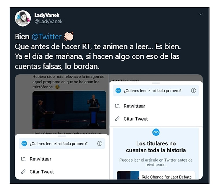 Twitter cambió la forma de retuitear - Infobae