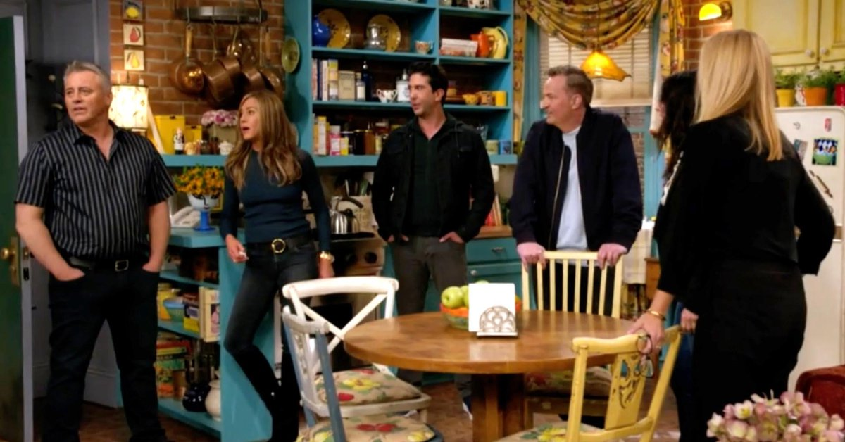 The most emotional and funniest moments of the Friends reunion