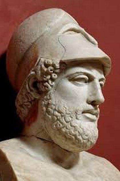 Pericles, el gran estadista griego, que fue víctima de la peste en Atenas en el s.V a.C.