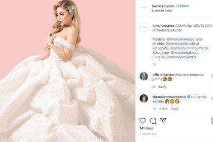 De la ex reina de belleza Emma Coronel, con la que tiene dos hijas, dijo que vivía con ella, pero no la reconoció como su esposa (Foto: Instagram)