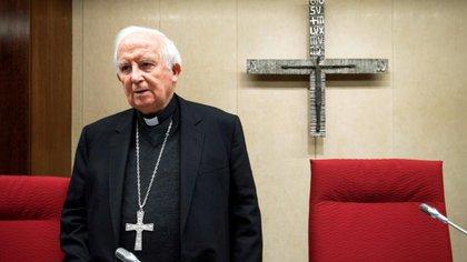 El cardenal arzobispo de Valencia Antonio Cañizares