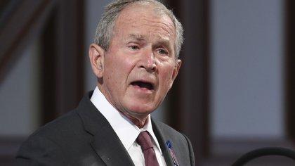 George Bush reveló por quién votó en 2020