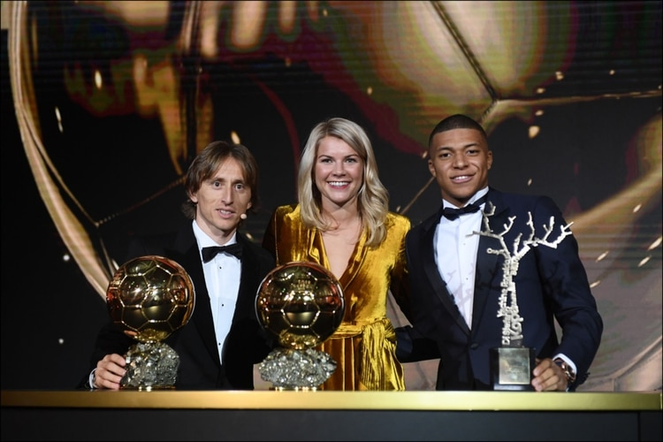 Modric, Hegerberg y Mbappe, los ganadores de la ceremonia pasada