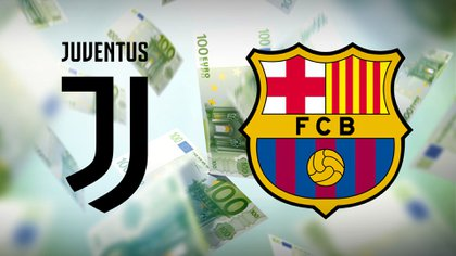 dinero escudos juventus barcelona portada