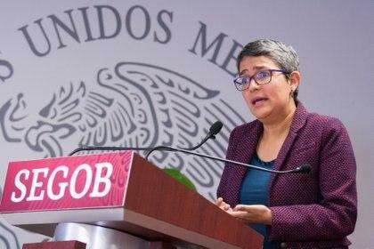 Karla Quintana Osuna, titular de la Comisión Nacional de Búsqueda de Personas Desaparecidas, reconoció que la población sabe lo que ocurre en torno a la desapariciones, pero tiene miedo de hablar. Imagen de archivo (FOTO: GALO CAÑAS /CUARTOSCURO)