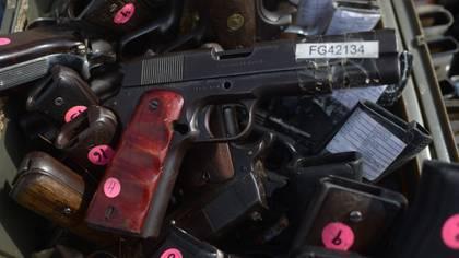 En los últimos ocho meses se decomisaron unas 1.294 armas de fuego por parte de autoridades mexicanas (Foto: Alberto Roa/ Cuartoscuro)