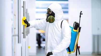 La nueva realidad trae consigo nuevos métodos de limpieza, desinfección y también trae nuevos métodos de prevención como son los coatings antimicrobianos (Shutterstock)