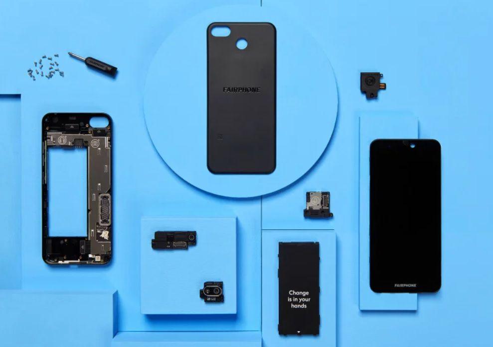 Fairphone 3 es un smartphone sustentable que se puede desarmar para reparar más fácilmente y así prolongar su vida útil