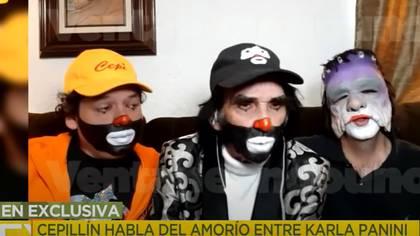 Cepillín referred to Karla Panini's romance with Américo Garza (Screenshot)
