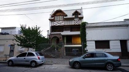 La casa de Avellaneda en la que vive Amado Boudou (Franco Fafasuli)
