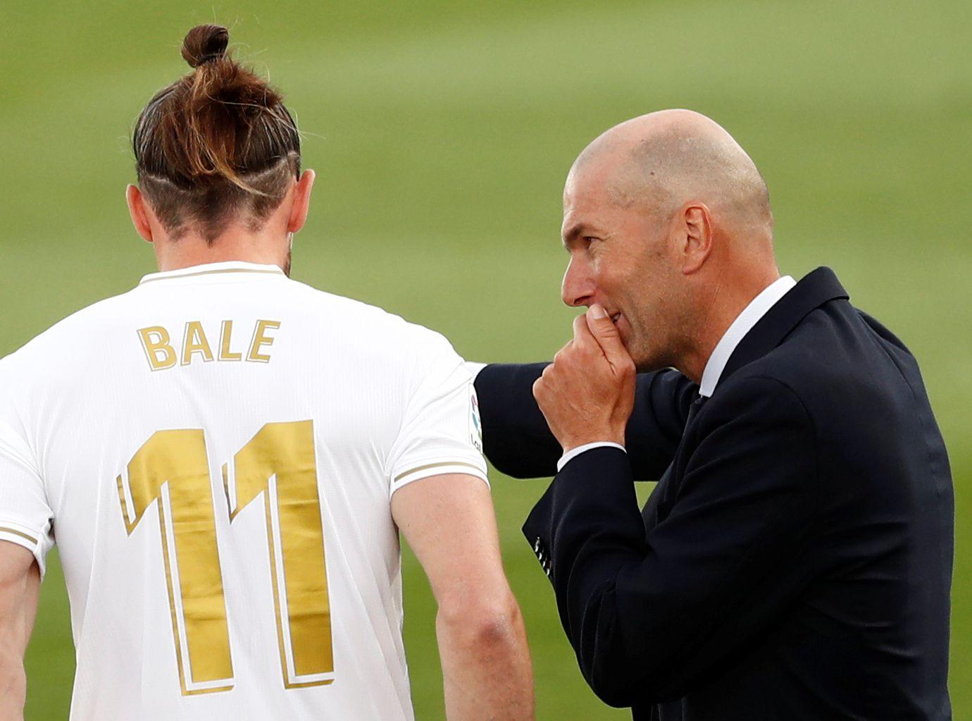 Zidane apenas ha utilizado a Bale en su segundo ciclo como entrenado del Real Madrid (Reuters)