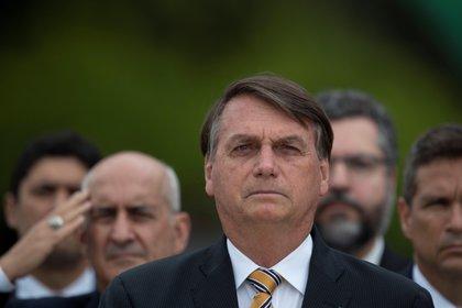 Jair Bolsonaro depende cada vez más del Centrão (EFE/Jo�dson Alves)