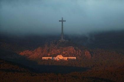 Vista del Valle de los Caídos a la mañana del jueves (REUTERS/Sergio Perez)