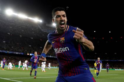 Luis Suárez, sinónimo de gol en Barcelona (REUTERS/Juan Medina/File Photo)