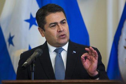En la imagen el presidente de Honduras, Juan Orlando Hernández. EFE /Jim Lo Scalzo /Archivo