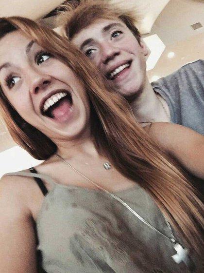 Paulo Londra y su novia Rocío (Instagram)