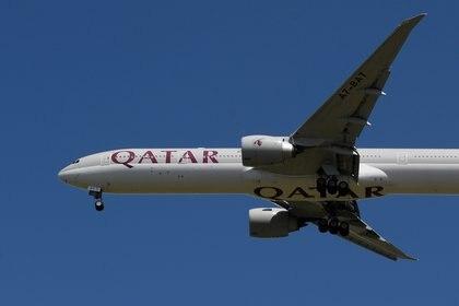 La aerolínea Qatar Airways tenía una ruta que unía Doha-Buenos Aires (REUTERS/Toby Melville/File Photo)