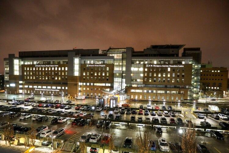 En Hospital Sunnybrook en Toronto se encuentra el paciente. REUTERS/Carlos Osorio