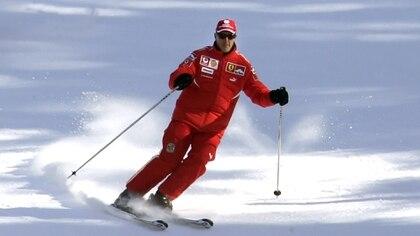 Michael Schumacher tuvo un accidente el 29 de diciembre de 2013 mientras esquiaba