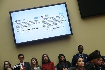 Cohen también recordó ataques de Trump a través de Twitter, los cuales interpreta como intimidaciones (Reuters/Jonathan Ernst)