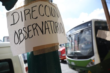 The incident caused the transport system to suspend its activities, partially, after more than 51 years of uninterrupted work. (Photo: EFE)