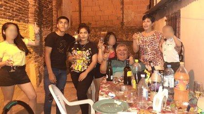 Part of the Aguero family