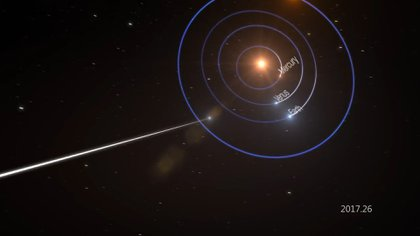 Los científicos esperan detectar más objetos internacionales en los próximos años (NASA)