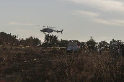 Los cuerpos de seguridad mantienen resguardada el área (Foto: Cuartoscuro)