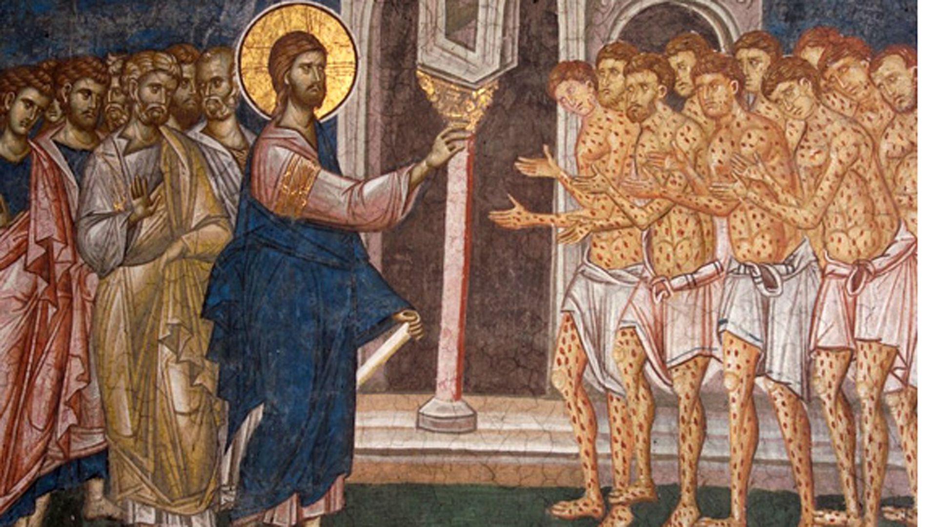 """La asociación es antigua: el libro bíblico de Levítico describe la lepra como una manifestación del pecado espiritual, llamando a las personas con la condición """"inmundas"""" y dirigiéndolas a vivir """"fuera del campamento"""""""