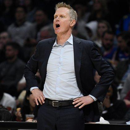 Steve Kerr es el actual entrenador de los Golden State Warriors (Robert Hanashiro-USA TODAY Sports)