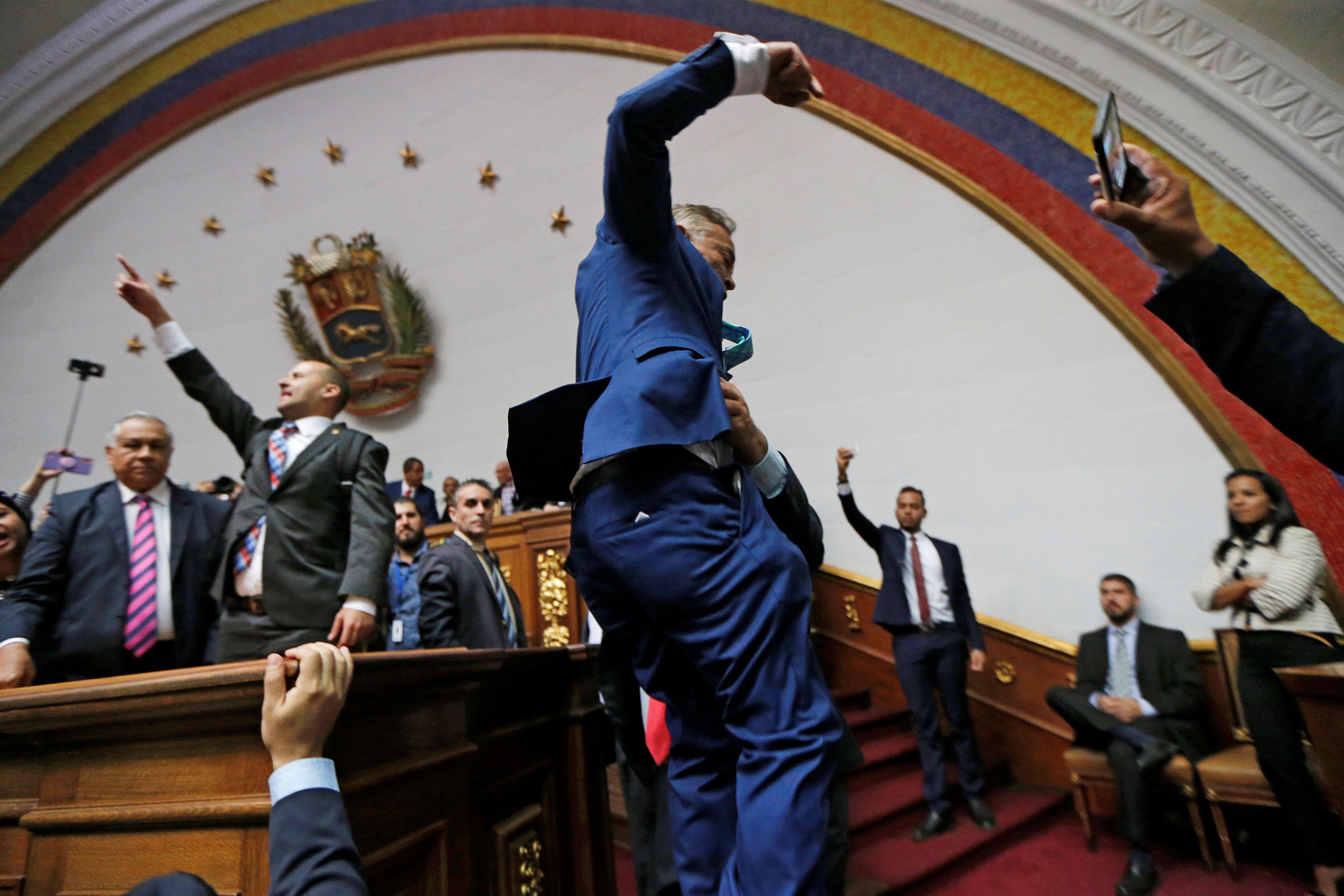 """La comunidad internacional acusó de """"fraudulenta"""" la elección en la Asamblea Nacional (REUTERS/Manaure Quintero)"""