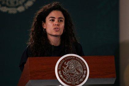 Luisa María Alcalde, secretaria de Trabajo y Previsión Social, indicó que las empresas exportadoras deben cumplir con determinados parámetros (Foto: Cuartoscuro)