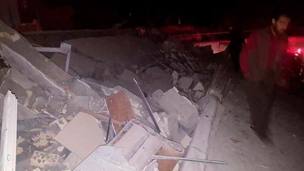 En Darbandikhan se registraron fuertes destrozos (@AramKrdstn)