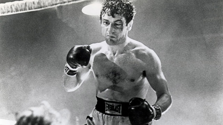 De Niro en Toro Salvaje, inspirada en la vida del boxeador Jake La Motta