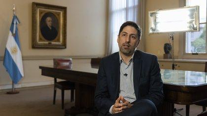 El ministro de Educación, Nicolas Trotta (Adrián Escandar)