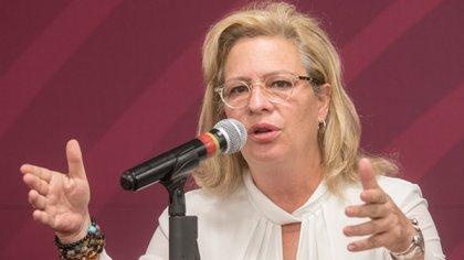 Josefa González Blanco renunció este sábado tras provocar el retraso de un vuelo comercial (Foto: Isaac Esquivel/ Cuartoscuro)